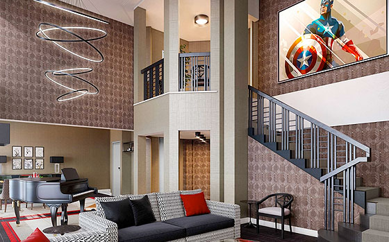 The Art of Marvel Presidential Suite