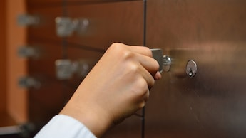 Safety Deposit Box at Reception
