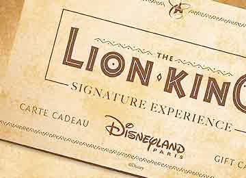 Lion King Signature Experience Disneyland Paris