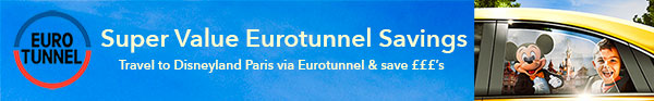 Eurotunnel Crossing Savings