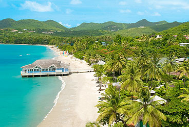Sandals Halcyon Beach, Saint Lucia
